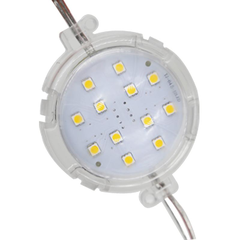 80mm12灯半圆形单色点光源